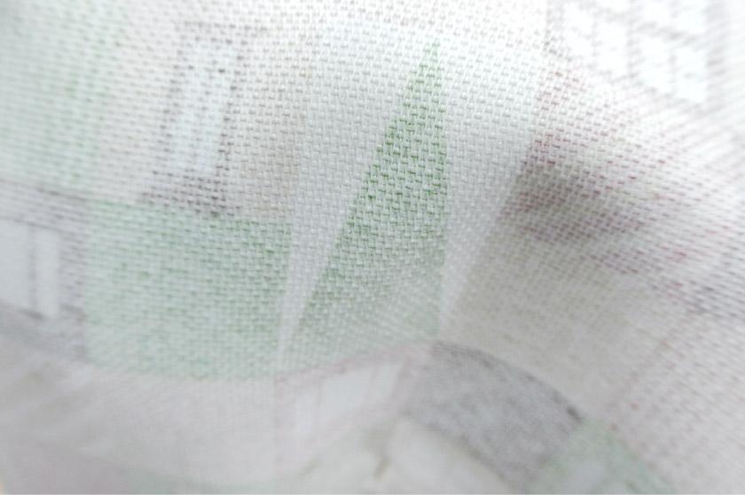 子供部屋におすすめの積み木柄カーテン