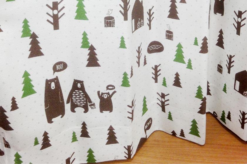 子供部屋にぴったりなクマの可愛いデザイン