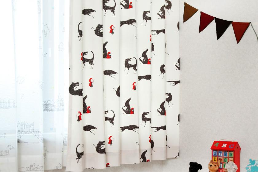 子供部屋におすすめの可愛いカーテン