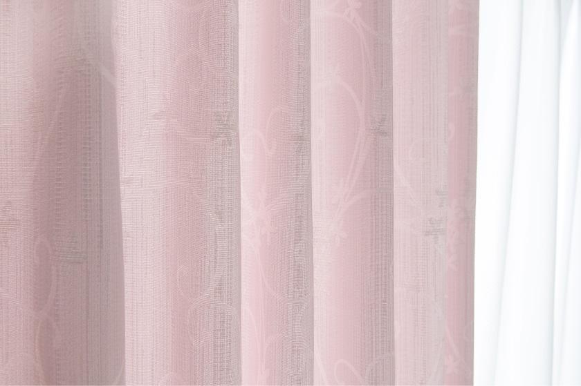 落ち着いた可愛いピンクでナチュラルな雰囲気