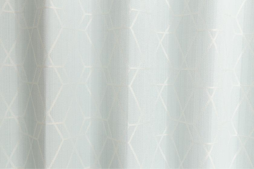 さりげない幾何学模様がおしゃれなカーテンです