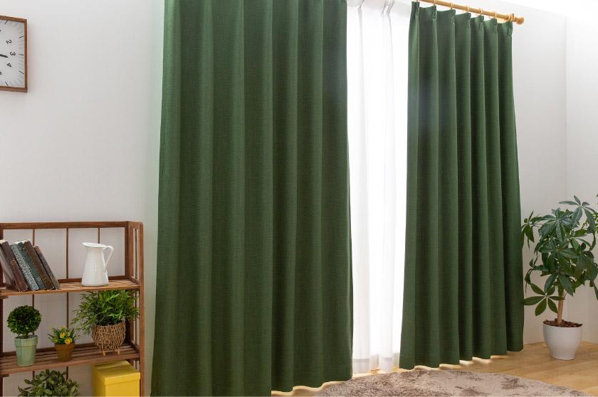 人気の無地、シンプル、1級遮光オーダーカーテン