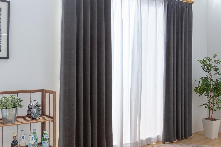 大人気の無地、多色、一級遮光、遮音の高機能オーダーカーテン