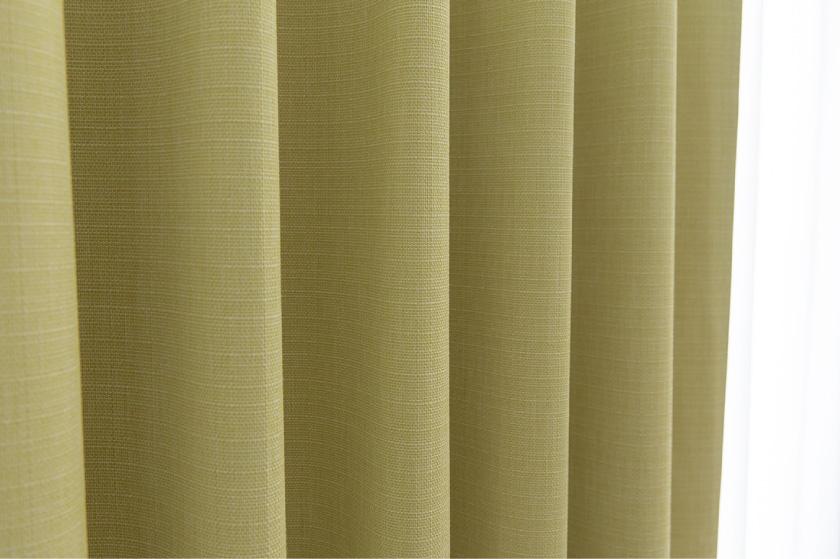 大人気の無地多色、一級遮光、遮音カーテンです