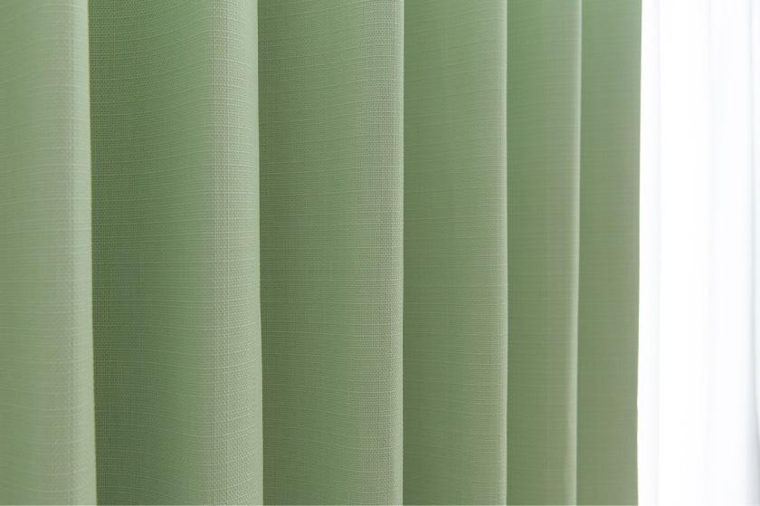 大人気の無地多色、1級遮光、遮音カーテンです