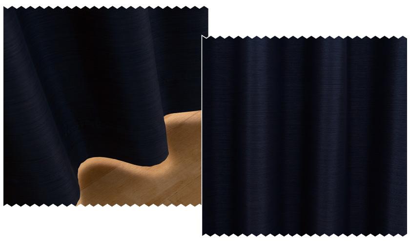 遮光1級の無地カーテン